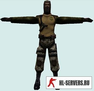 Модель игрока под названием 1337 KR3W