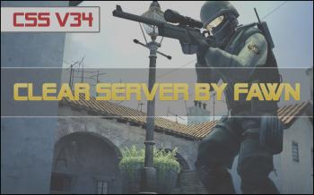 Чистый Counter-Strike Source сервер (by FawN)