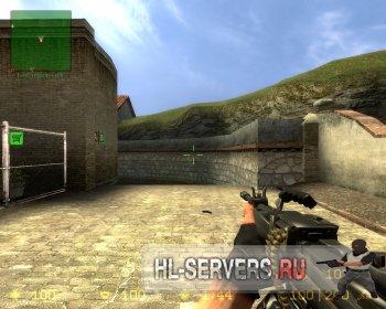 Модель оружия пулемета Negev для CSS
