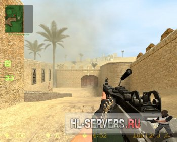 Модель M249 (чечни) для Counter Strike Source