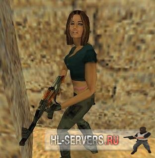 Модель террориста девушки