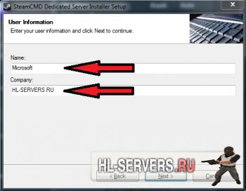 Dedicated Server Installer (Установка чистого сервера CS:GO)