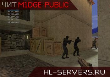 Чит m1dge Public для КС 1.6 (скачать без регистрации)