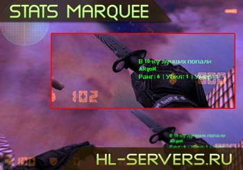 Stats Marquee (Показывает лучших игроков)