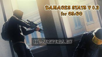 Плагин Damages Stats v0.2 для CS:GO