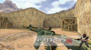 Модель M4A4 Bounty Hunter для CS 1.6