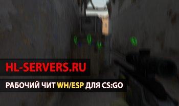 Рабочий чит WH/ESP для CS:GO