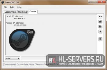 SteamCMD GUI