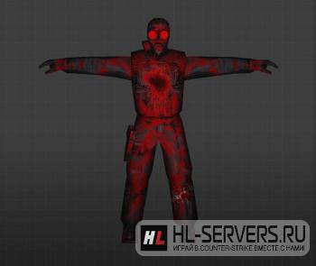 Модель «Кровавый SAS» для CS 1.6