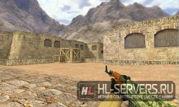 Модель AK-47 «Камуфляж» для CS 1.6