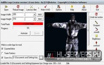 Half-life Logo Creator (Создаем свой спрей в CS 1.6)