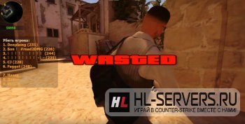 Плагин Wasted Overlay для CS:GO