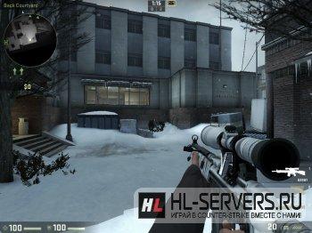 """Модель G3SG-1 """"Snow Themed"""" для CS:GO"""