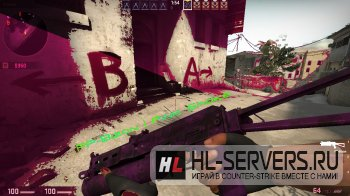 Модель PP-Bizon Pink Smoke для CS:GO