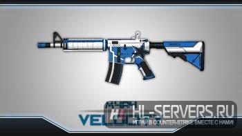 Модель M4A4 VELOCITY для CS:GO