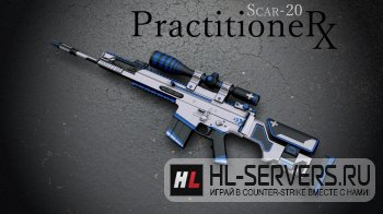 Модель SCAR-20 Practitoner для CS:GO