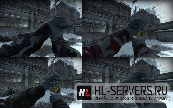Модели рук Spetsnaz Sleeve для CS:GO