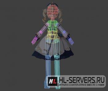 Модель Barbara (Genshin Impact) для CS:GO