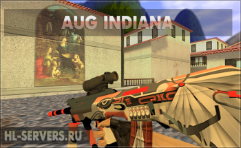 Модель AUG Indiana для CS 1.6